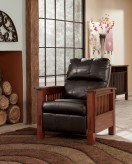 Ashley Santa Fe Chocolate High Leg Recliner Available Online in Dallas Fort Worth Texas