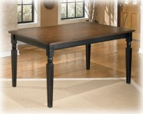 Ashley Owingsville Rectangular Dining Table Available Online in Dallas Fort Worth Texas