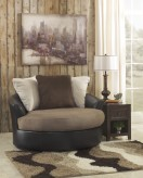 Masoli Mocha Swivel Chair Available Online in Dallas Fort Worth Texas