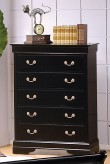 Louis Philippe Black Chest Available Online in Dallas Fort Worth Texas