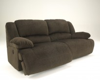 Ashley Toletta Chocolate Power Reclining Sofa Available Online in Dallas Fort Worth Texas