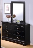Louis Philippe Black Dresser Available Online in Dallas Fort Worth Texas