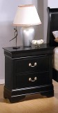 Louis Philippe Black Night Stand Available Online in Dallas Fort Worth Texas