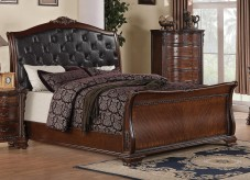 Maddison King Sleigh Bed Available Online in Dallas Fort Worth Texas