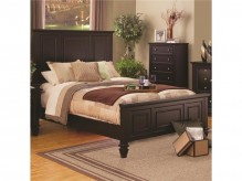 Sandy Beach Cappuccino Cal King Panel Bed Available Online in Dallas Fort Worth Texas
