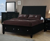 Sandy Beach Black Cal King Storage Bed Available Online in Dallas Fort Worth Texas