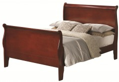 Coaster Louis Philippe Cherry Full Bed Available Online in Dallas Fort Worth Texas