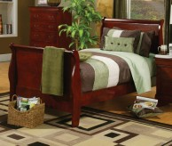 Louis Philippe Cherry Twin Bed Available Online in Dallas Fort Worth Texas