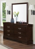 Louis Philippe Brown Dresser Available Online in Dallas Fort Worth Texas