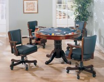 Coaster Mitchell Game Table Available Online in Dallas Fort Worth Texas