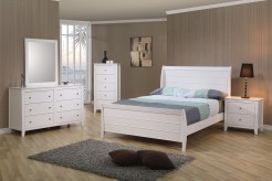 Selena 5pc Full Sleigh Bedroom Set Available Online in Dallas Fort Worth Texas