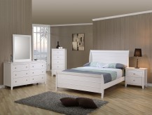 Coaster Selena 5pc Twin Sleigh Bedroom Set Available Online in Dallas Fort Worth Texas