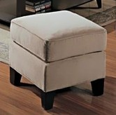 Coaster Park Place Cream Ottoman Available Online in Dallas Fort Worth Texas