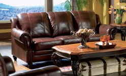 Princeton Leather Sofa Available Online in Dallas Texas