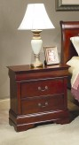 Coaster Louis Philippe Cherry Night Stand Available Online in Dallas Fort Worth Texas