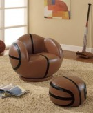 Coaster Basketball Chair w/Otto... Available Online in Dallas Fort Worth Texas
