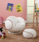 Coaster Baseball Chair with Ott... Available Online in Dallas Fort Worth Texas