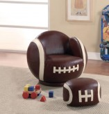 Coaster Football Chair with Ott... Available Online in Dallas Fort Worth Texas