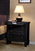 Sandy Beach Black Night Stand Available Online in Dallas Fort Worth Texas