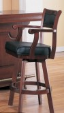 Coaster Lambert Cherry Barstool Available Online in Dallas Fort Worth Texas