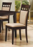 Coaster Hyde Cushion Back Side Chair Available Online in Dallas Fort Worth Texas