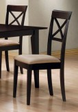 Hyde Cross Back Side Chair Available Online in Dallas Fort Worth Texas