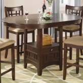 Coaster Lavon Chestnut Counter Height Dining Table Available Online in Dallas Fort Worth Texas