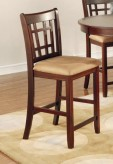 Lavon Chestnut Counter Height Chair Available Online in Dallas Fort Worth Texas