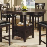 Coaster Lavon Cappuccino Counter Height Table Available Online in Dallas Fort Worth Texas