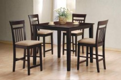 Coaster Davis 5pc Counter Height Dining Set Available Online in Dallas Fort Worth Texas