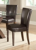 Coaster Nessa Brown Parson Chair Available Online in Dallas Fort Worth Texas