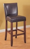 Coaster Telegraph Brown Barstool Available Online in Dallas Fort Worth Texas