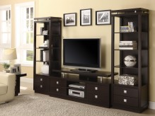 Coaster Brandy 3pc Wall Unit Available Online in Dallas Fort Worth Texas