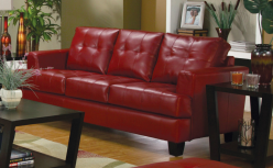 Coaster Samuel Red Sofa Available Online in Dallas Fort Worth Texas