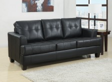 Coaster Samuel Black Sofa Available Online in Dallas Fort Worth Texas