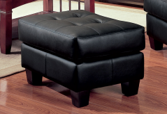 Coaster Samuel Black Ottoman Available Online in Dallas Fort Worth Texas