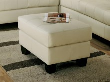 Samuel Cream Ottoman Available Online in Dallas Fort Worth Texas