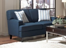 Coaster Finley Blue Loveseat Available Online in Dallas Fort Worth Texas