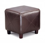 Coaster Olson Dark Brown Ottoman Available Online in Dallas Fort Worth Texas