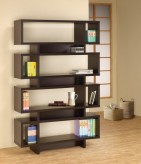 Coaster Brandy Cappuccino Open Bookcase Available Online in Dallas Fort Worth Texas