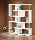 Brandy White Modern Bookcase Available Online in Dallas Fort Worth Texas