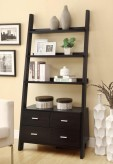 Coaster Sammy Ladder Bookcase With Drawers Available Online in Dallas Fort Worth Texas