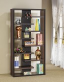 Coaster Interject Brown Bookcase Available Online in Dallas Fort Worth Texas