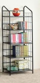 Coaster Black Metal Bookshelf Available Online in Dallas Fort Worth Texas