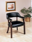 Black Captain's Chair Available Online in Dallas Fort Worth Texas