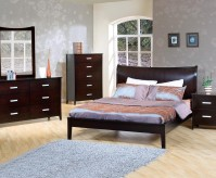 Stuart Contempo Queen 5pc Platform Bedroom Group Available Online in Dallas Texas