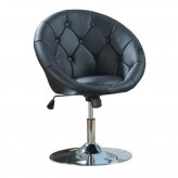 Coaster Dia Black Round Tufted ... Available Online in Dallas Fort Worth Texas