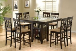Coaster Gabriel Cappuccino 5pc Counter Height Dining Set Available Online in Dallas Fort Worth Texas