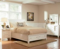 Sandy Beach White Queen Storage Bed Available Online in Dallas Fort Worth Texas