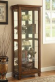 Beverely Espresso Slide Door Curio Available Online in Dallas Fort Worth Texas